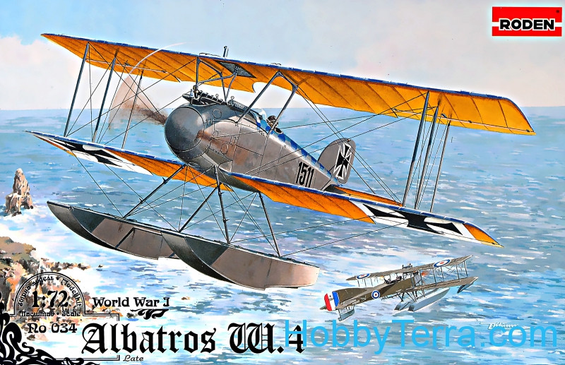 Roden  034 Albatros W.4 (late)