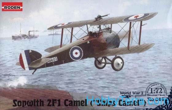 Sopwith 2F.1 Camel RAF figher