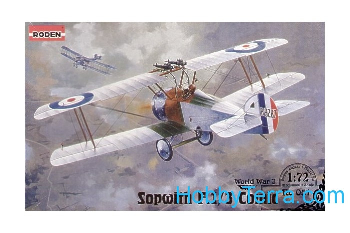 Roden  051 Sopwith F.1/3 Comic RAF interceptor