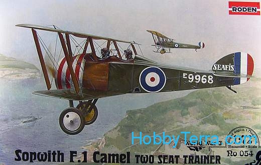 Sopwith F.1 Camel RAF two seat trainer