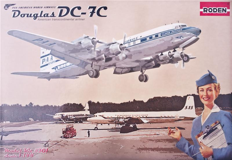 DC-7C Pan American World Airways (PAA)