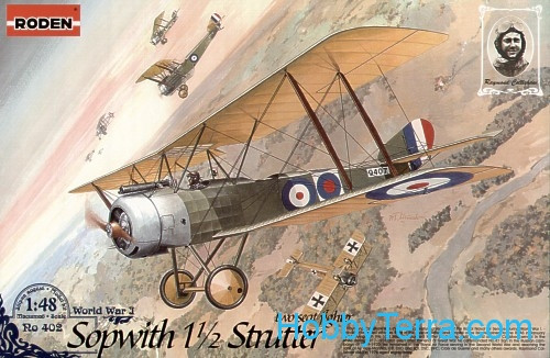 Roden  402 Sopwith 1 1/2 Strutter two-seat fighter