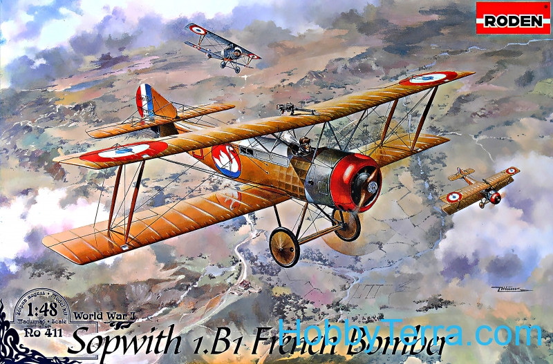 Roden  411 Sopwith 1.B1 French bomber