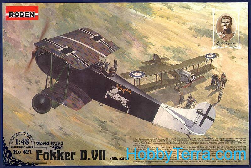 Fokker D.VII Alb early