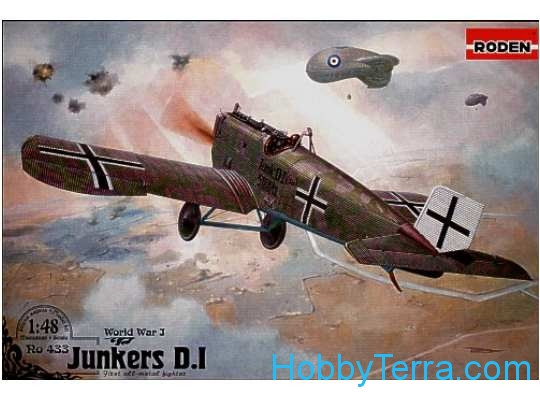 Roden  433 Junkers D.I (early, long fuselage)