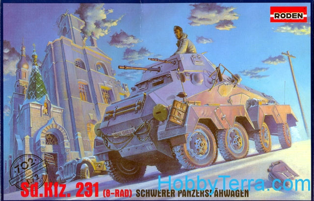 Sd.Kfz. 231 (8-RAD) armored car