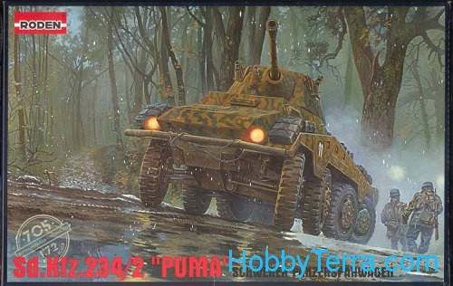Roden  705 Sd.Kfz. 234/2 'Puma' armored car