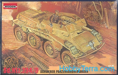 Roden  707 Sd.Kfz. 234/3 WWII German armored vehicle