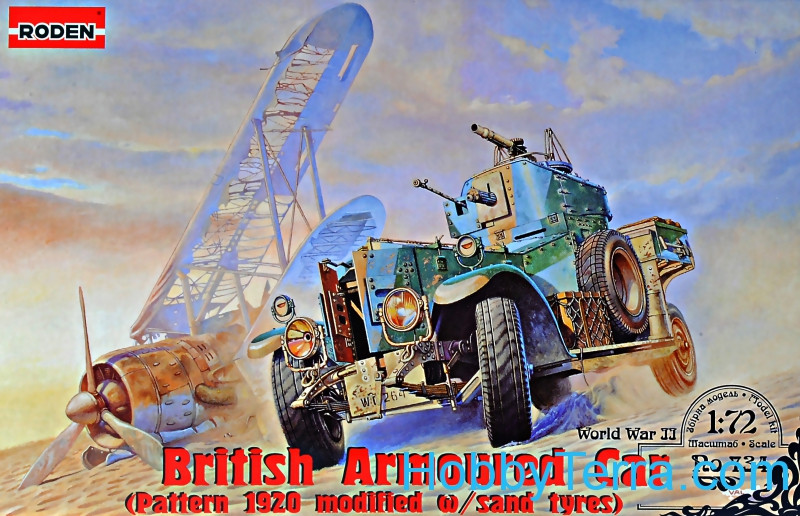 Roden  734 British armored car Pattern 1920 Mk.II (modified with sand tyres)