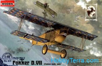 Fokker D.VII (late) WWI German fighter