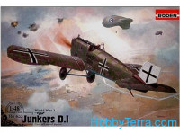 Junkers D.I (early, long fuselage)