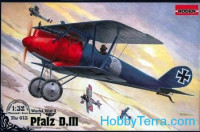Pfalz D.III WWI German fighter