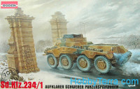 Sd.Kfz. 234/1 WWII German armored car
