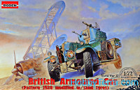 British armored car Pattern 1920 Mk.II (modified with sand tyres)