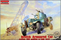 British armoured car (Pattern 1920 modified w/sand tyres)
