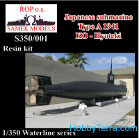 Japanese submarine TYPE A 1941 KO-Hyoteki (resin kit)