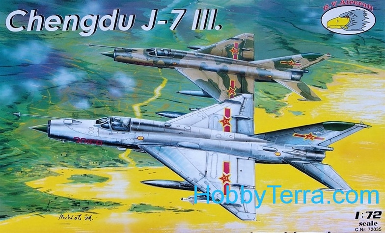 Chengdu J-7 III (limited edition)