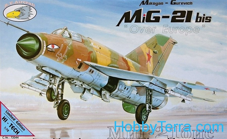 Mikoyan MiG-21bis Over Europe 'HI-TECH kit'