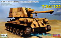 Self-propelled gun T-34/122 (Egyptian army)