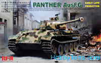 Panther Ausf.G Early/ Late productions