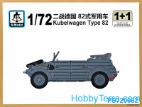 Kubelwagen Type 82 (2 model kits in the box)