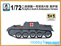 Pz.Kpfw.I Ausf.A ambulance (2 model kits in the box)