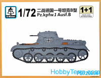 Pz.Kpfw.I Ausf.B tank (2 model kits in the box)