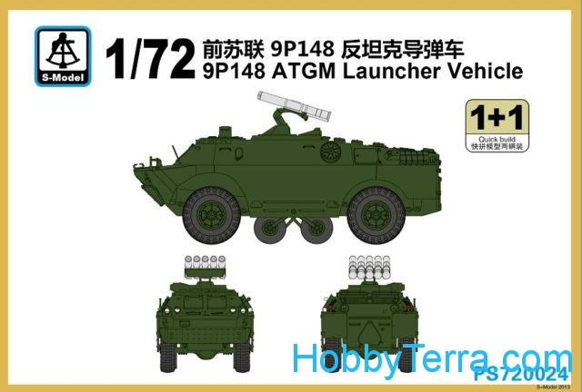 9P148 ATGM Launcher Vehicle (2 kits in box)