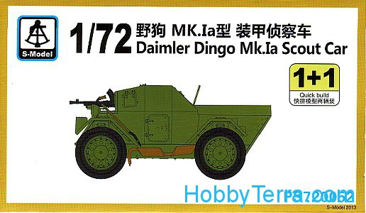 Daimler Dingo Mk.Ia Scout Car (2 sets in the box)