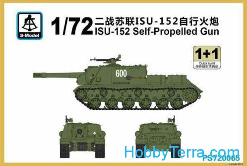 S-model  PS720065 ISU-152 (2 sets in the box)