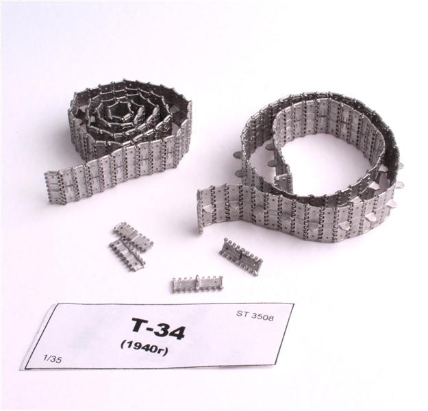 Assembled metal tracks for T-34 (mod. 1940)