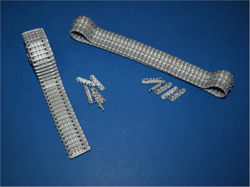 Assembled metal tracks for King Tiger (late), E-50, E-75
