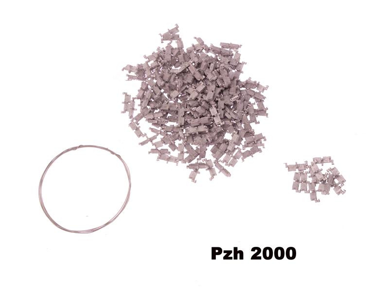 Metal track links set for Panzerhaubitze 2000