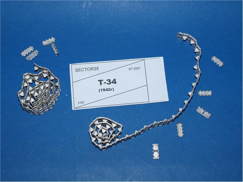 Sector35  3527 Assembled metal tracks for T-34 (mod. 1942)