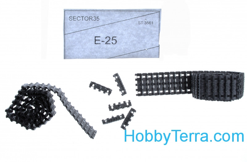 Assembled metal tracks for Е-25