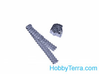 Assembled metal tracks for B-4, BR-2 howitzer, 2 pcs
