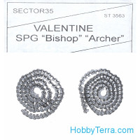 Assembled metal tracks for Valentine, Bishop, Archer
