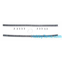 Assembled metal tracks for Sherman M4 (steel type vvss T74)
