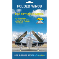 Folded wings for Skyraider AD-2, AD-3, AD-4, AD-5 (all)