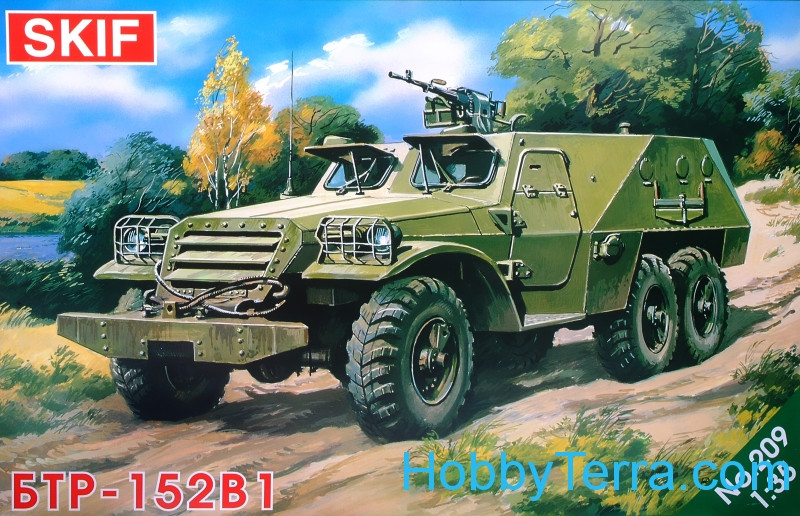 BTR-152V1 Soviet armored troop-carrier