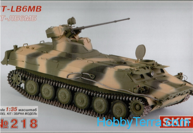 Skif  218 MT-LB6MB Soviet armored troop-carrier prime-mover