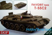 "T-55C-2 ""Favorit"" Czech driver training tank"
