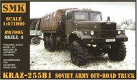 KrAZ-255B1 Soviet Army off-road truck
