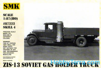 ZiS-13 Soviet gas holder truck