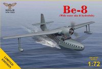 Be-8 (With water skis & hydrofoils)