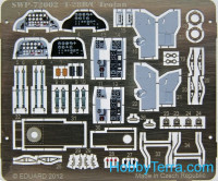 Photo-etched set for T-28B/C Trojan, for SWORD kit