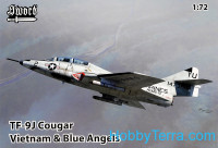 TF-9J Cougar Vietnam & Blue Angels