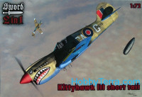 Curtiss P-40K Kittyhawk III (3x decal), 2 kits in box