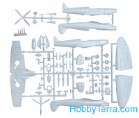 Seafire Mk.IIc (2 decals versions) RAF fighter