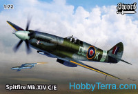 Spitfire Mk.XIV C/E (4 decal versions)